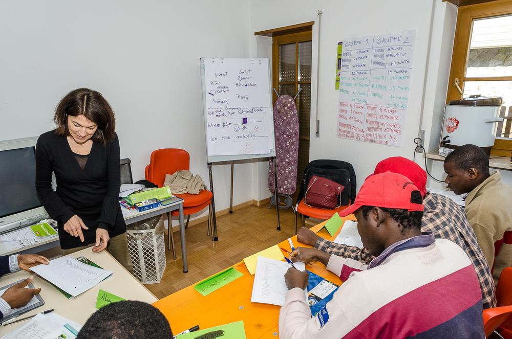 Sprachunterricht Deutsch mit Brigitte Baur