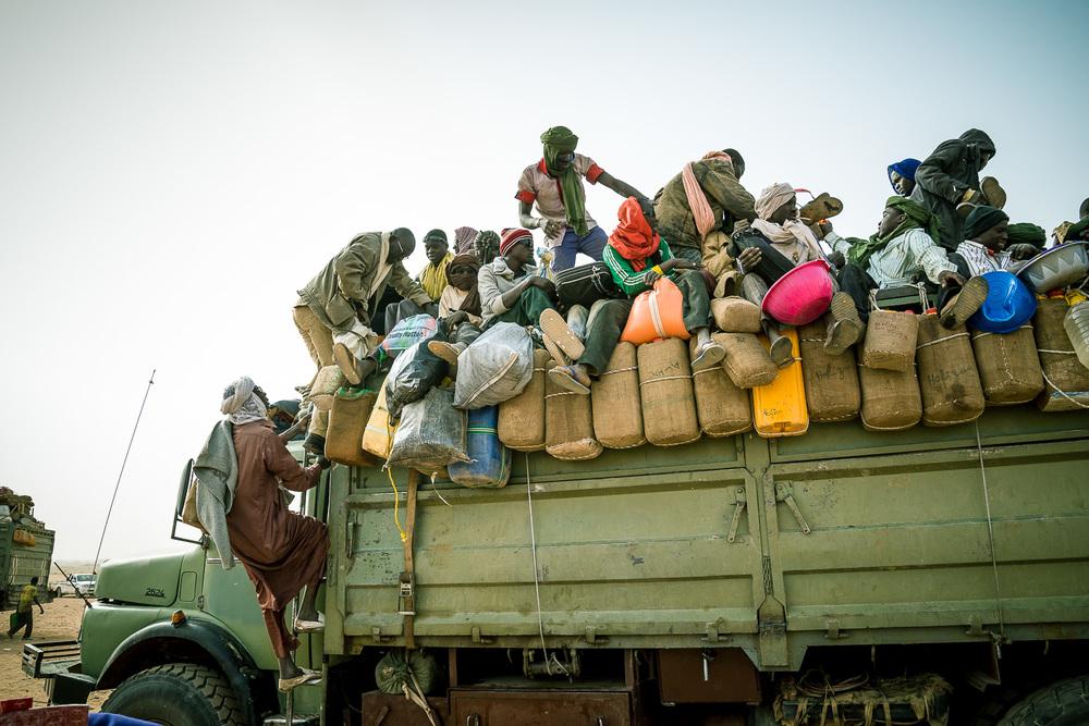 Agadez  - Der Aufbruch am Montagmorgen