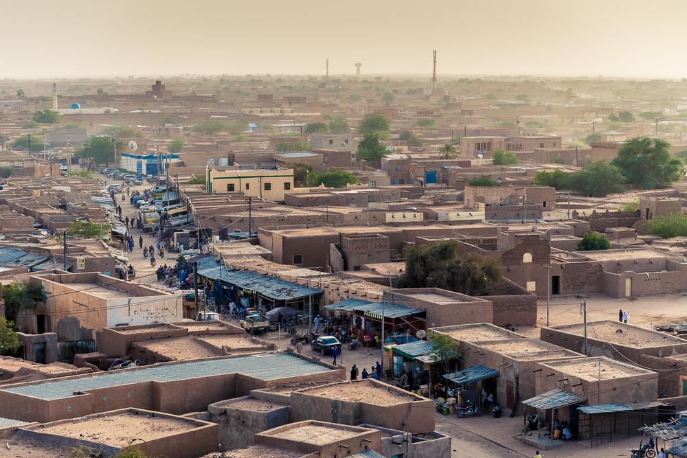 Agadez von oben