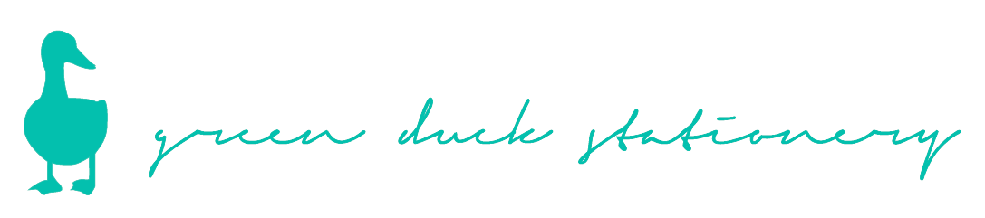 green duck stationery