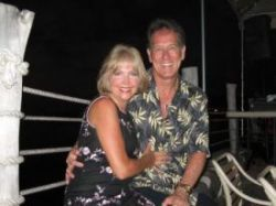 Dave and Michelle Lovett in Hawaii