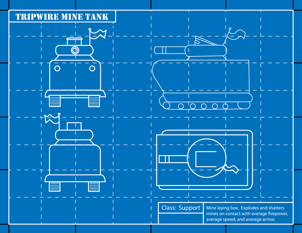 Tank Graphic for Unpublished game.