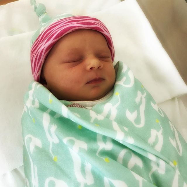 Welcome to the family Virginia Elouise! #niece #prouduncle