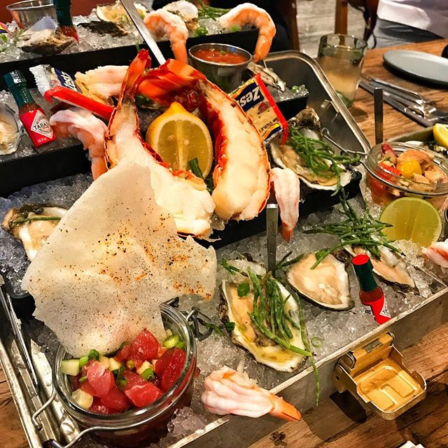 Speechless... #admiralstower - - - - - - - #stockisland #florida #seafood #lobster