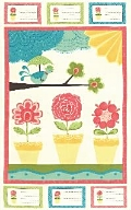 Chance of Flowers Panel will arrive in March .....so cute!