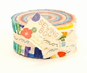 You can find these other needed items for this project in the shop too:  1 yard of fusible fleece click  HERE and Bella Solids SNOW  will work nicely for the 1 1/2 yards of background and lining needed for this project. Pre-cut Jelly Rolls make this project a snap. Have Fun and make something MODA today!    I'd love to showcase your finished cover here on my blog....please share photos onto my face book or email a photo to Carol@RockingChairQuilts.com     CLICK HERE FOR PATTERN DOWNLOAD