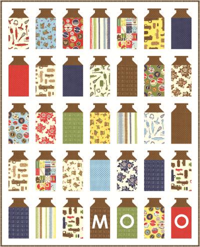 Milk Cow Kitchen Quilt Kits!