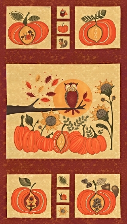 What might you create with this cute Hello Fall Panel?