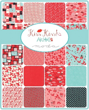 Kiss Kiss by Abi Hall for Moda Fabrics