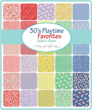30'S Playtime Favorites by Chloe's Closet for Moda Fabrics