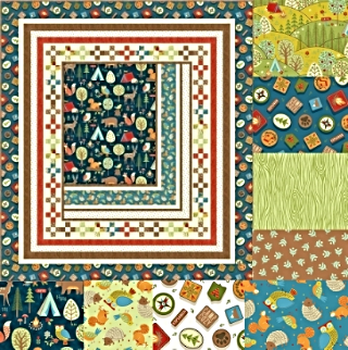 CAMP COZY by Studio 8 for Quilting Treasures