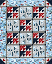 Wingman  Smithsonian Fabric Collection from Quilting Treasures has arrived!