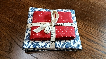 The lucky winner of this prize will need backing and binding fabric , so we've included that too!