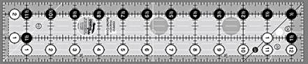 Creatiive Grids 2 1/2 x 12 1/2 ruler