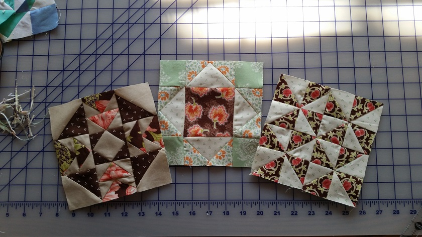 BLOCK SEVEN, EIGHT AND NINE MADE IN SOMERSET FABRICS