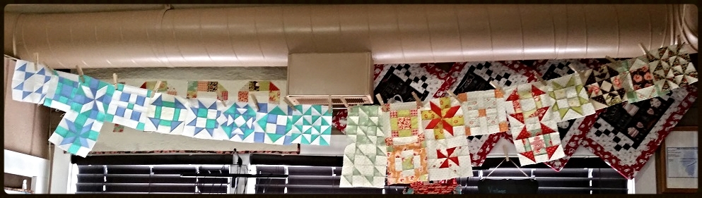 Moda sampler shuffle gets 'clotheslined' at RockingChairQuilts.com