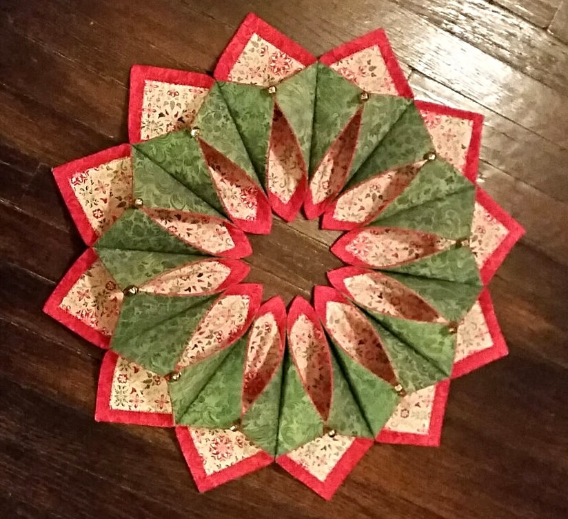 Fold N Stitch Wreath Rocking Chair Quilts