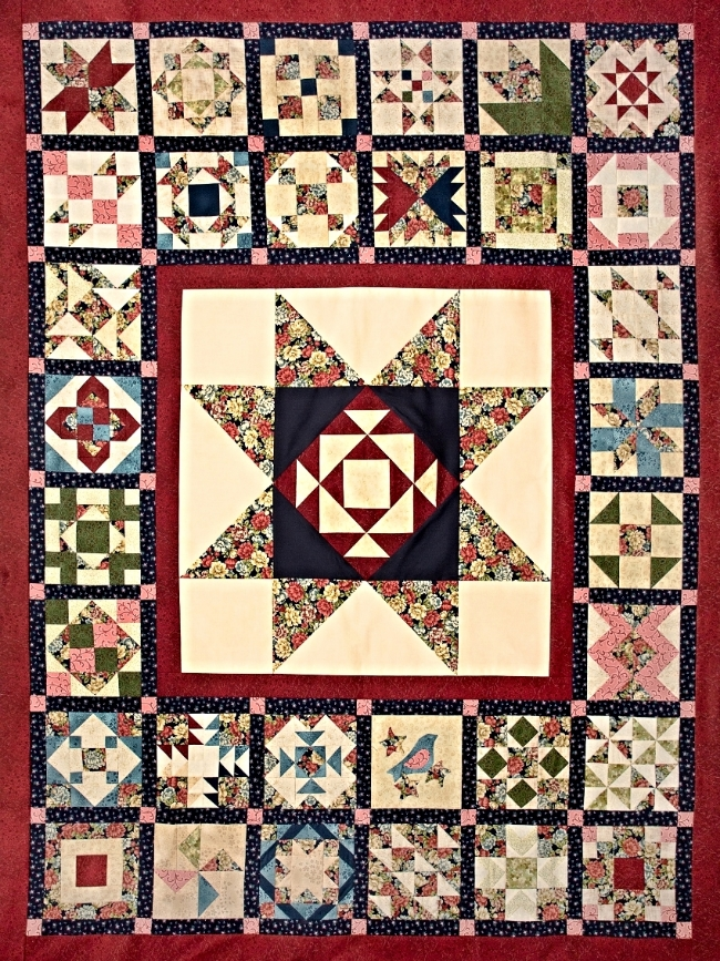 #1 Diana's Quilt