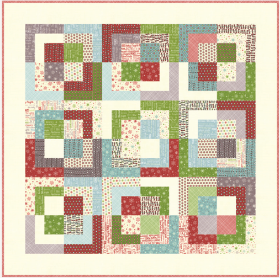 FRIVOL # 10 - SUGAR QUILT KIT FEATURES THE COOKIE EXCHANGE FABRICS