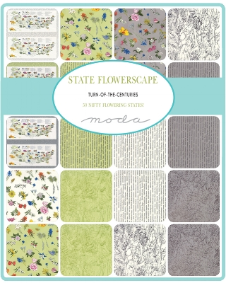 In this collage you can see some of the prints in your prize fat quarter bundle