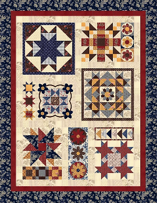 """Quilt is 60"""" x 78""""."""