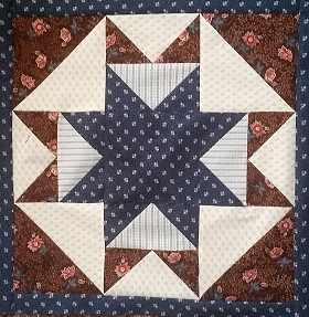 Going over these tips for this blog post got me back into a grove of better pressing habits again. Here's a block  I just finished for a new Block of the Month we are getting ready to start. Click on the picture to read more about this  new BOM program.