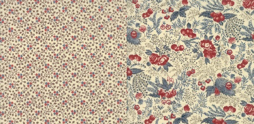 These 2 prints were selected by Betsy Chutchian  to use as backing for your quilt. 31544 12 and 31543 12 .  CLICK HERE  to shop for backing yardage from the collection.