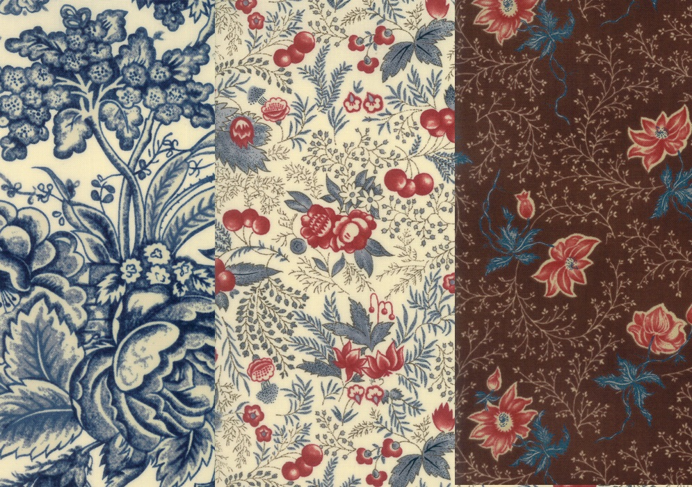 Fabrics from Betsy's Rachel Remembered Collection