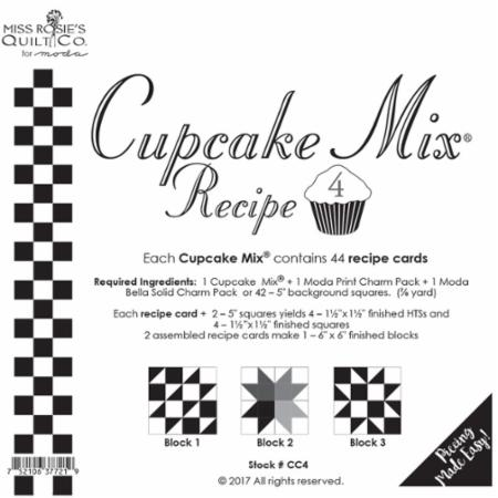 cupcake mix 4 miss rosie s quilt company for moda fabrics