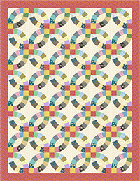 Double Wedding Ring Quilt Pattern Free Digital Download Rocking