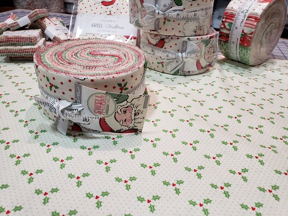Holiday flavored Jelly Rolls. This one is  SWELL CHRISTMAS  by Urban Chiks for Moda