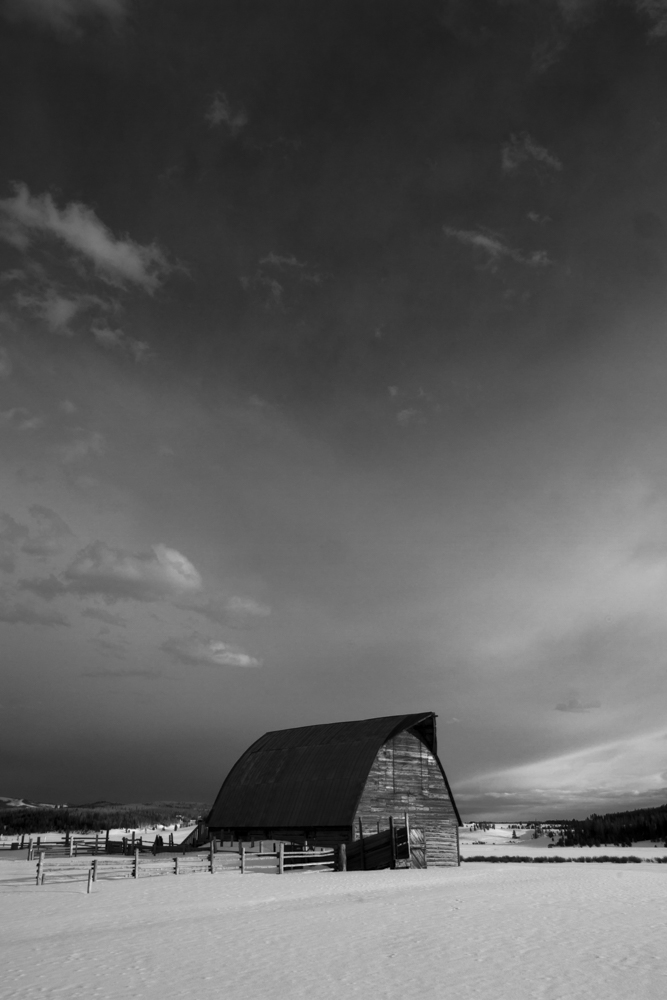 Barn near Steamboat Springs, CO