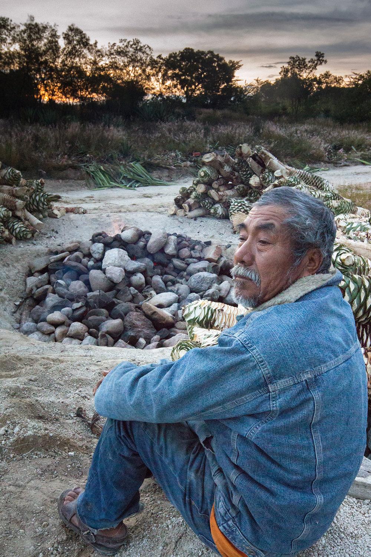 Padre: Maestro mezcalero Margarito Cortés