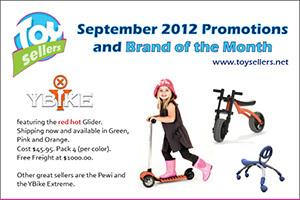 September 2012 - Y-Bike