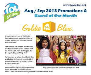 August/September 2013 - Goldie Blox YouTube Round 2