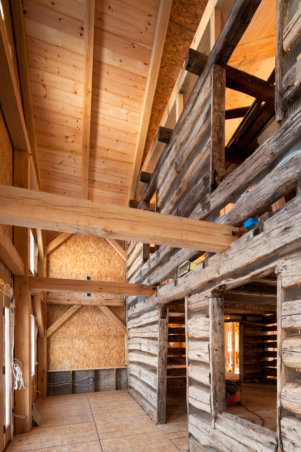 Timber framed barn, Maryland
