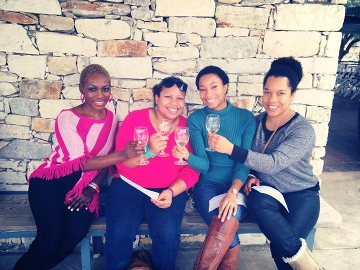 My 30th birthday at Comal Creek Vineyard with friends.