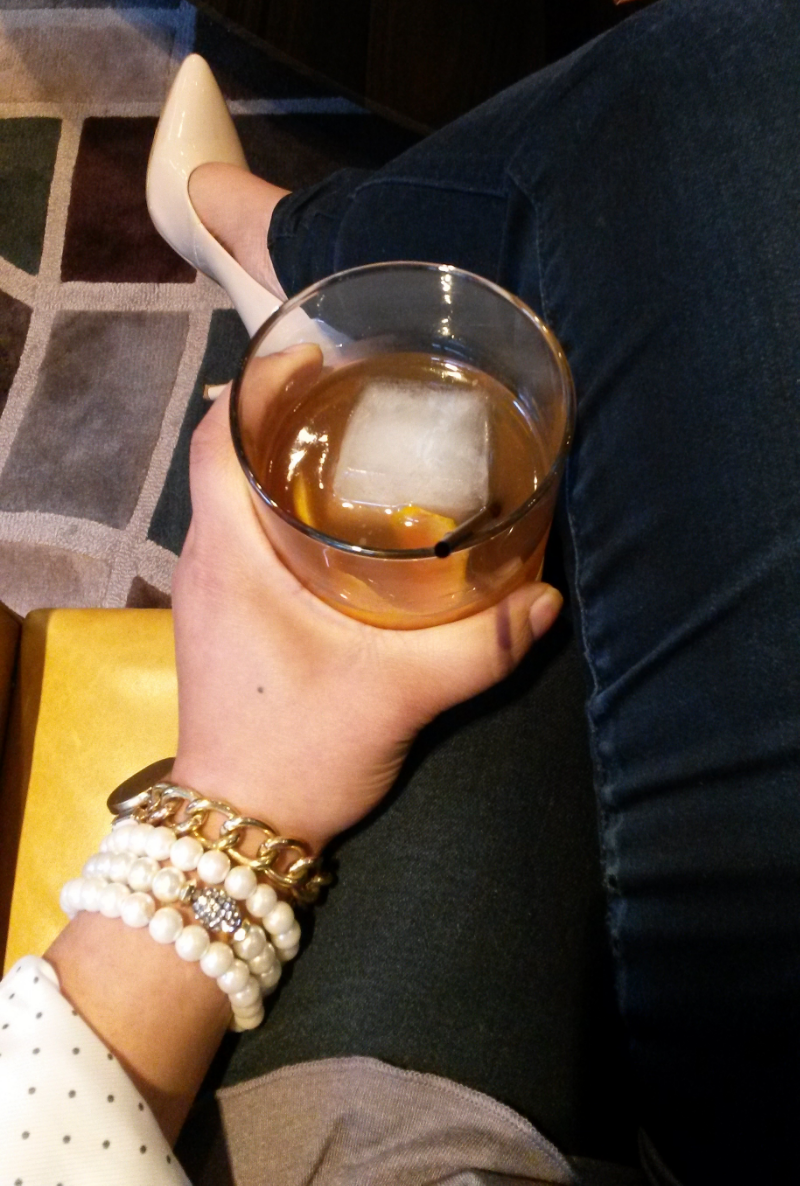 I am an Ol' Fashioned kinda girl. Whiskey is my weakness.