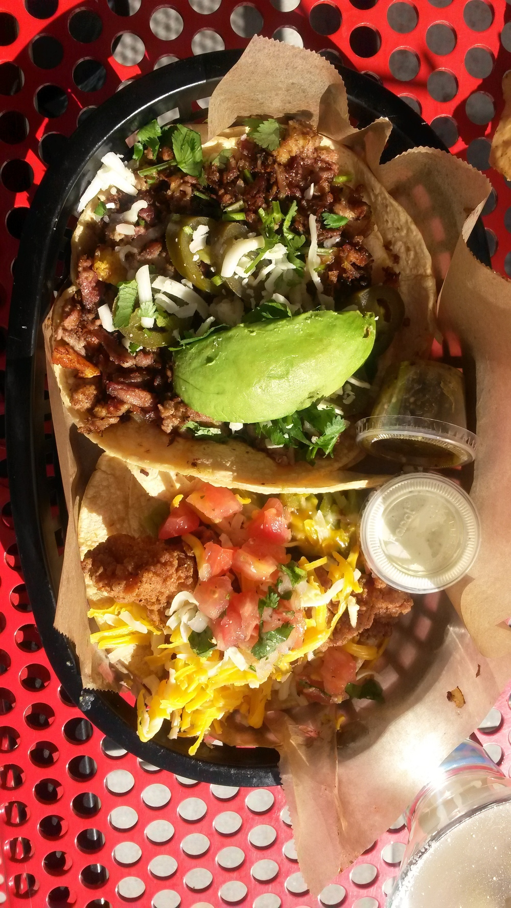 Two words....Torchy's Tacos! Enough said.