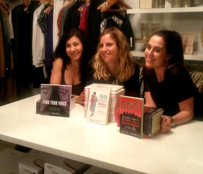 From Left to Right- Sahar Paz, Megan Silianoff, and Julie Lauren.