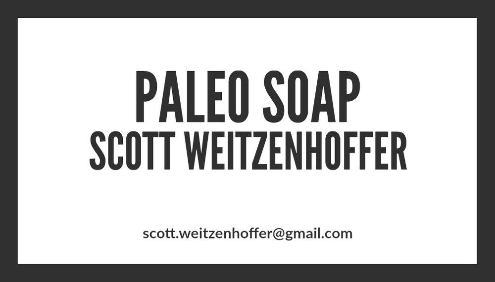 Paleo Soap
