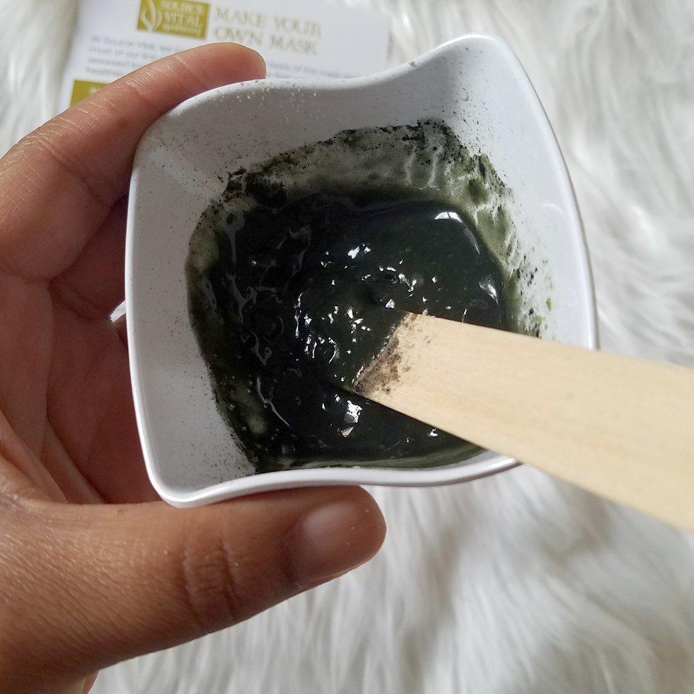 source vital algae mask