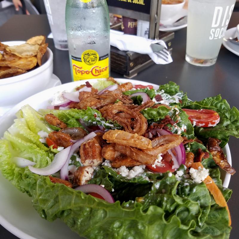 dish society salad