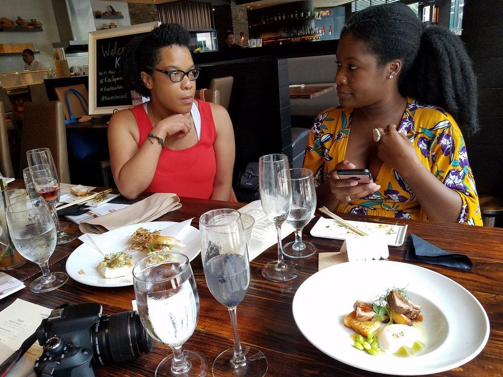 Houston food blogger