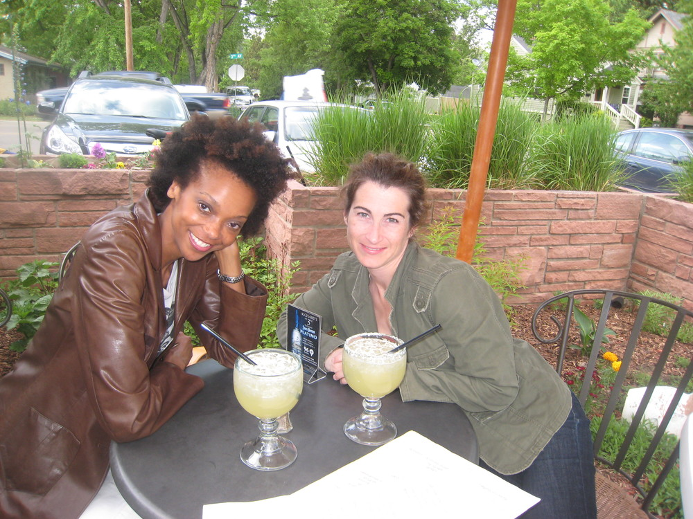Me and Maureen enjoying a few margs in Colorado.