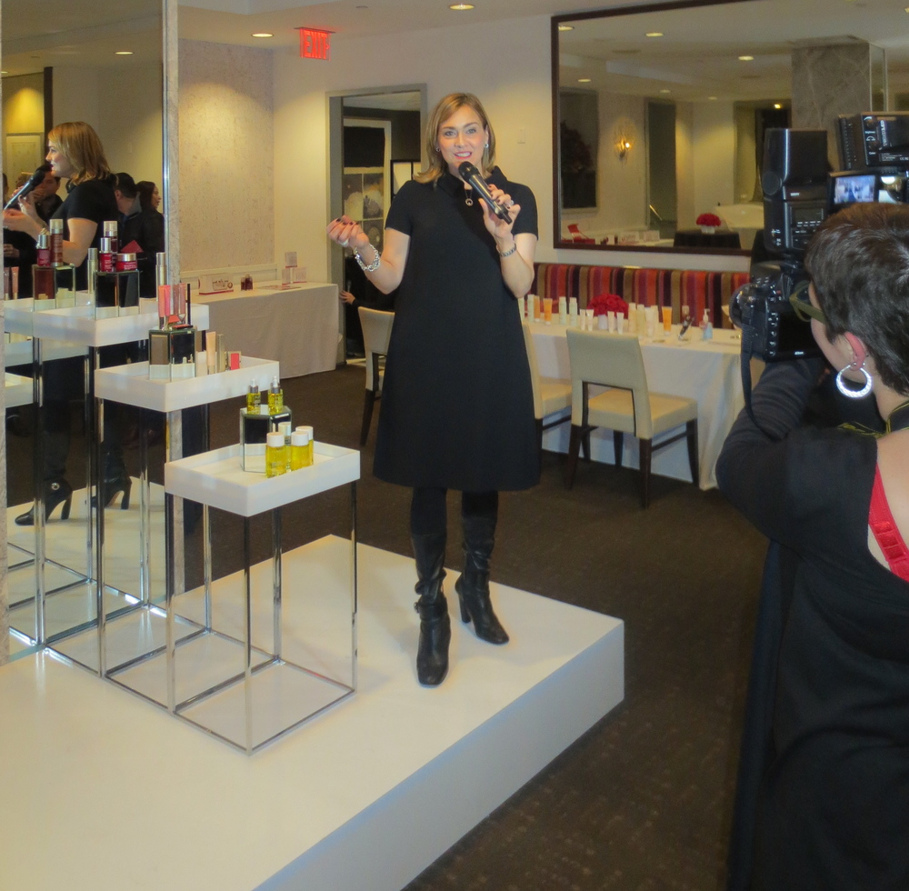 Dawn Cassara, VP of Sales, Clarins, discusses the brand.