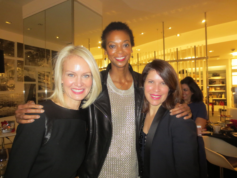 With Genevieve from More Magazine and Laura from Lancome.