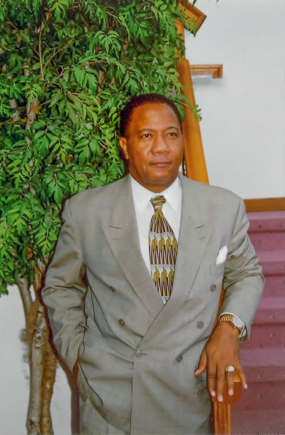 Bishop Lawrence C. Callahan Sr. 1945 - 2001