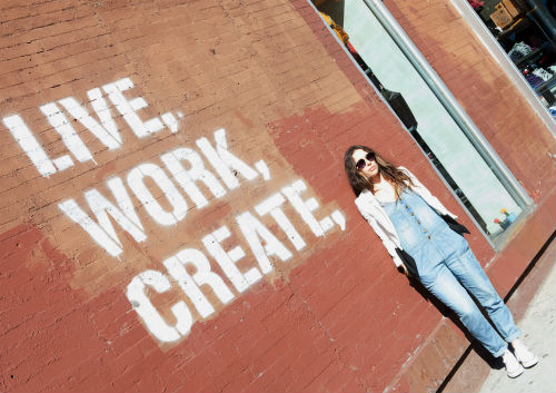 Live, work, create, converse.