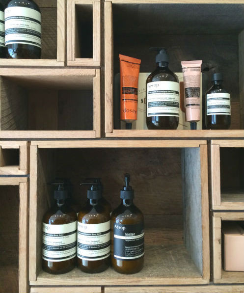 Loved the interior space and branding of  Aesop  in Soho. Great stop after brunch. It's a must for every home...straight from Australia itself.